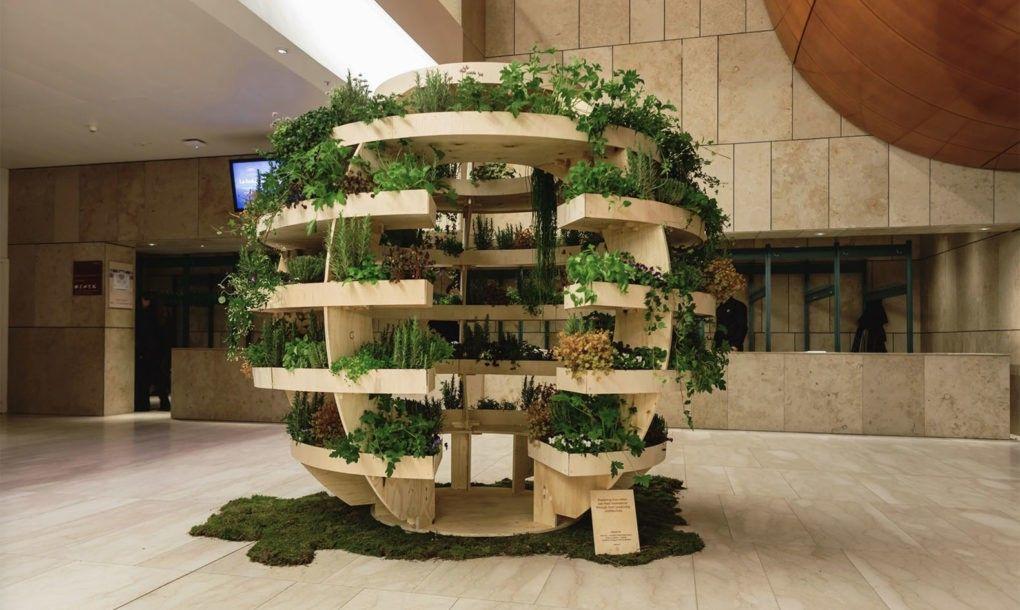 Space10 Creates An Open Source Growroom You Can Build At Home Ikea Garden Garden Spheres Sustainable Garden