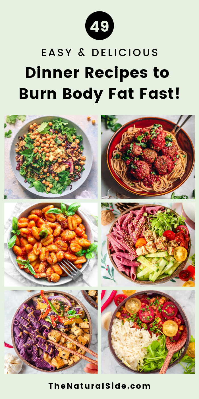 49 Easy & Delicious Dinner Recipes to Burn Body Fat Fast images