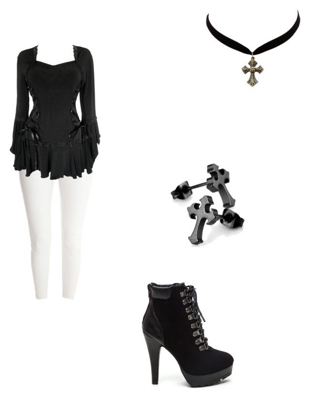 """Untitled #341"" by annafrye on Polyvore featuring J Brand and Charlotte Russe"