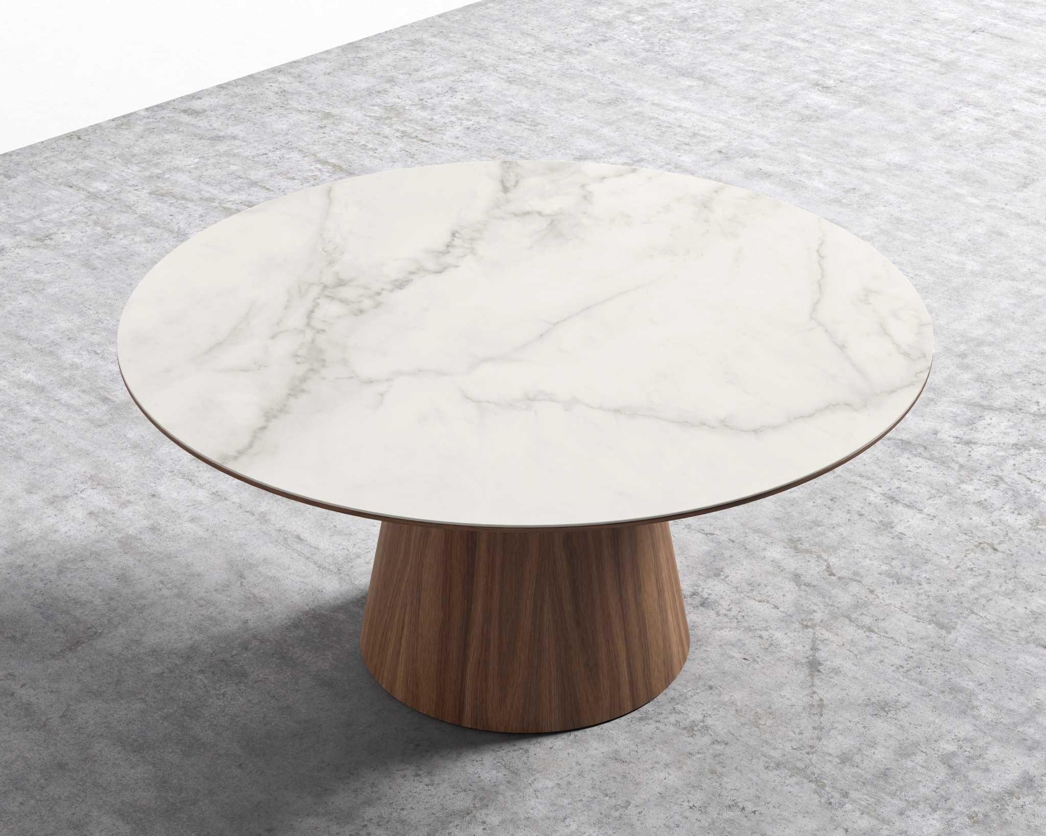 Winston Dining Table 47 European Ceramic Modern Marble Dining Tables Round Marble Dining Table Dining Table [ 1638 x 2048 Pixel ]