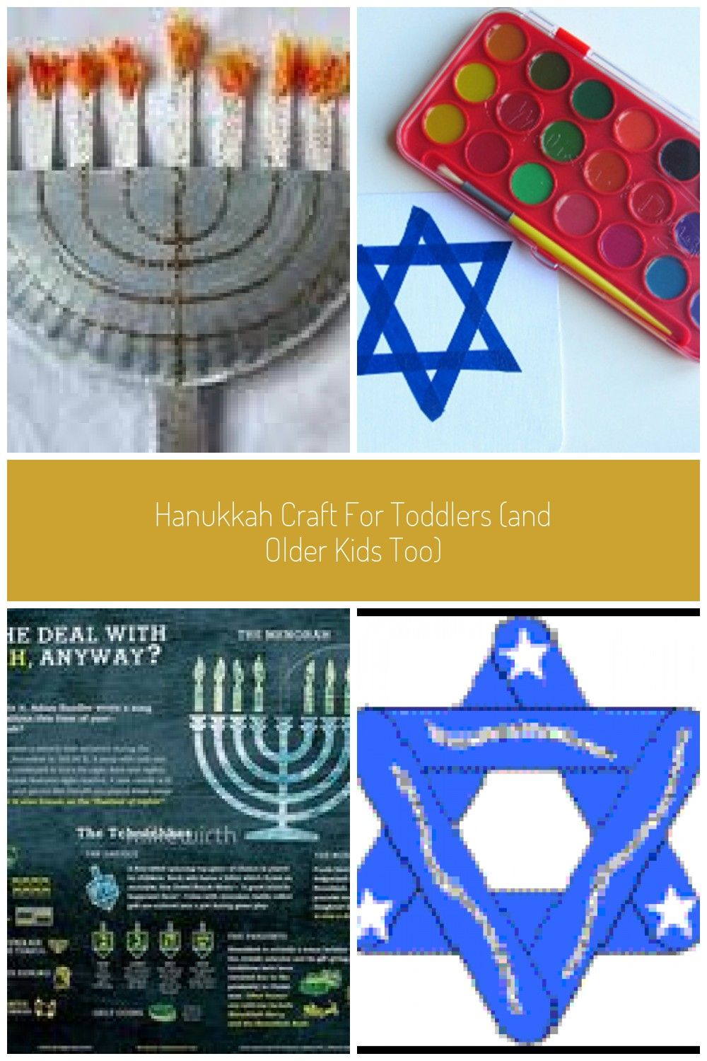 hanukkahGet your littlest friends excited about Hanukkah by making