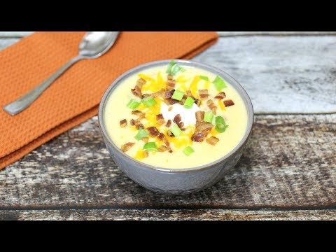 Loaded Potato Soup Recipe  SUBSCRIBE HERE:  BROCCOLI CHEEDAR SOUP:  Hey Everyone! All the flavors …  http://LIFEWAYSVILLAGE.COM/cooking/loaded-potato-soup-recipe/