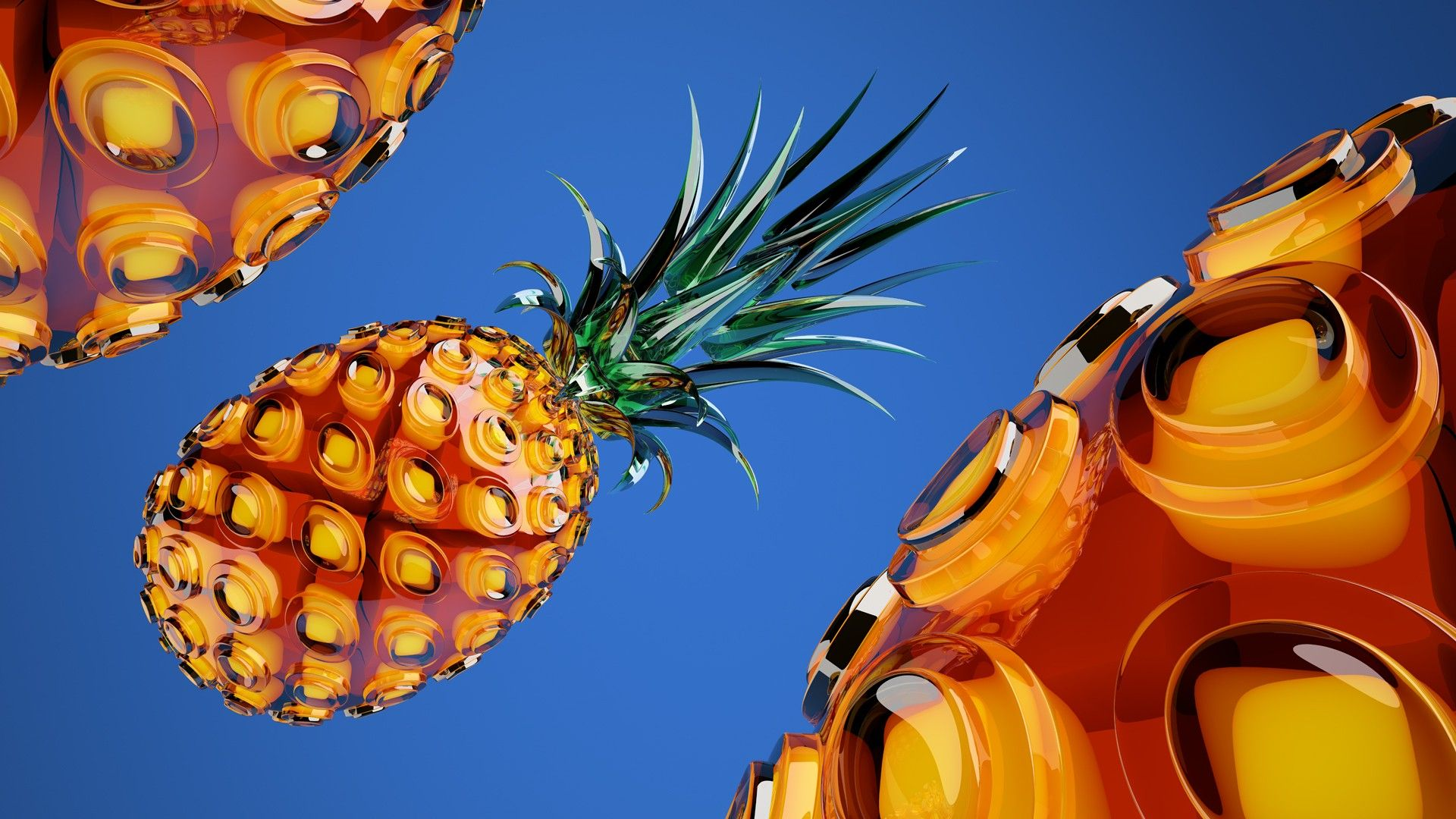 Stunning Pineapple HD Wallpaper Free Download 3DHD