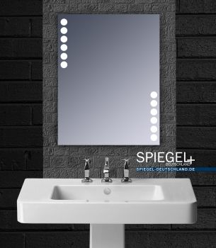 Badspiegel Mit Led Beleuchtung Lita Badezimmerspiegel