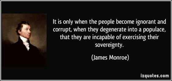 Pin By Chennu Kesava On Politics Pinterest James Monroe Cool Revolutionary War Quotes
