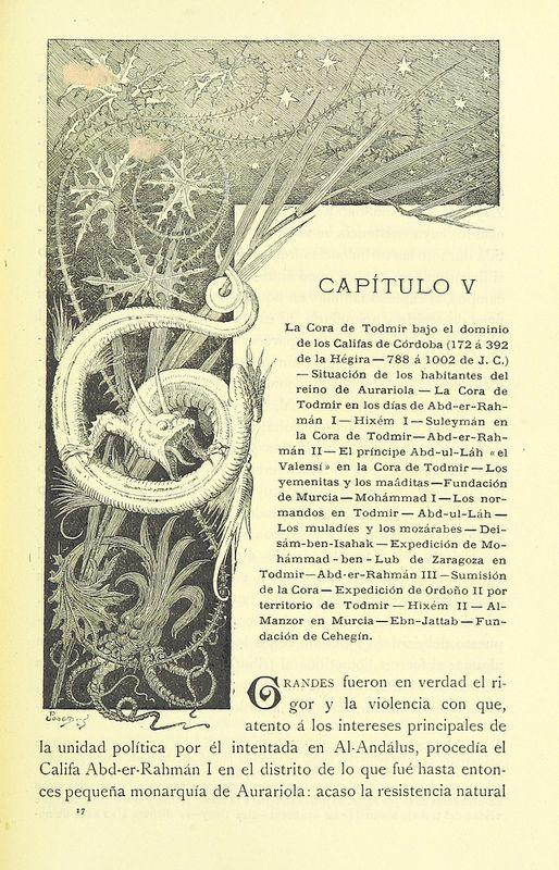 Image taken from page 135 of 'Murcia y Albacete ... Fotograbados y heliografías de Thomás, dibujos de Cabrinety, cromos de Xumetra' | by The British Library