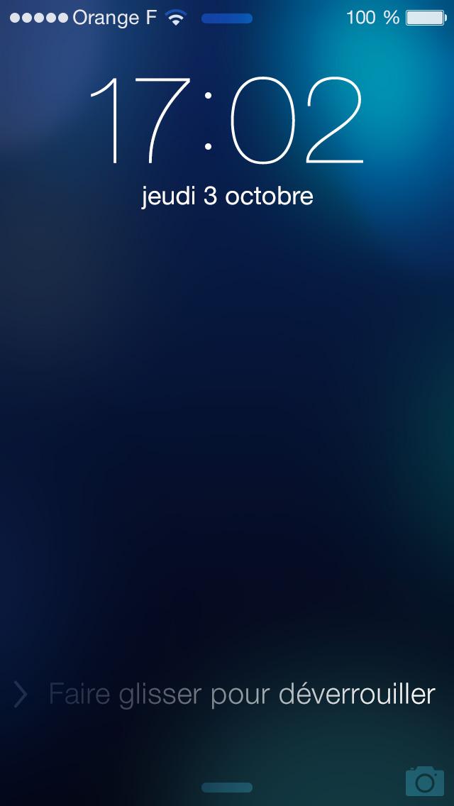 iOS 7 Lockscreen Template & Themes PSD Templates, Psd