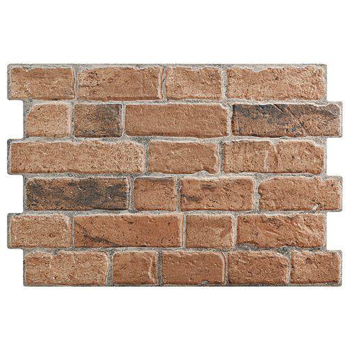 Revestimento cer mico 33x47cm brick pardo leroy merlin - Ceramica leroy merlin ...