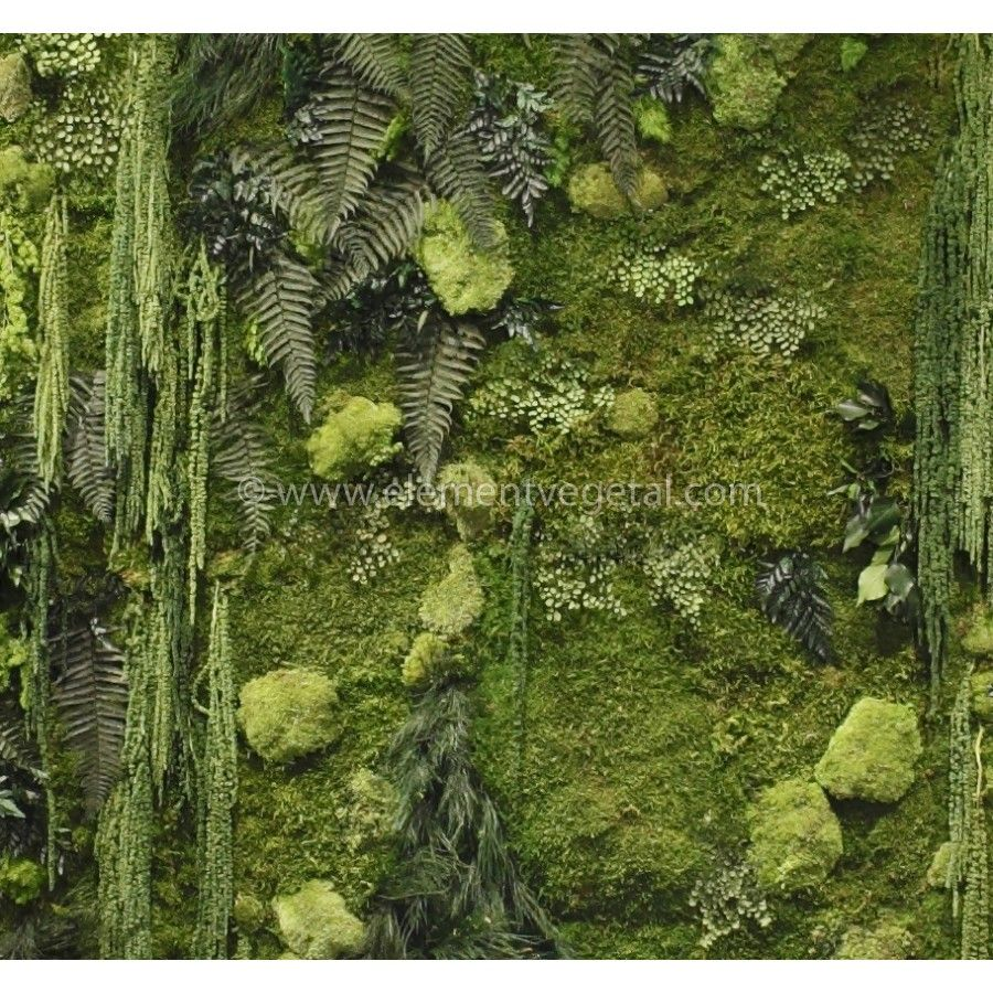 mur v g tal stabilis deco de spatule pinterest mur vegetal vegetal et mur. Black Bedroom Furniture Sets. Home Design Ideas