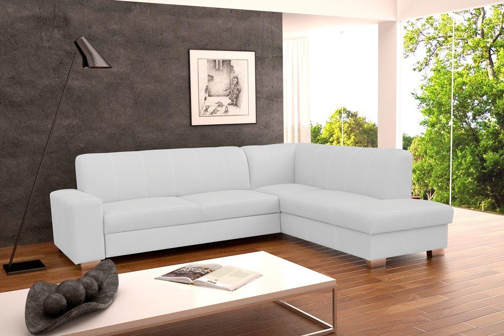 Details zu ECKSOFA Couch mit Schlaffunktion Eckcouch Polstergarnitur