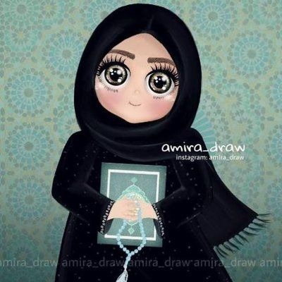 Loubna Dz Loubamiss Girly Drawings Digital Art Anime Girly Art