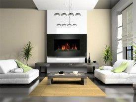 Chimenea Electrica Decorativa Sala Y Comedor Interiores