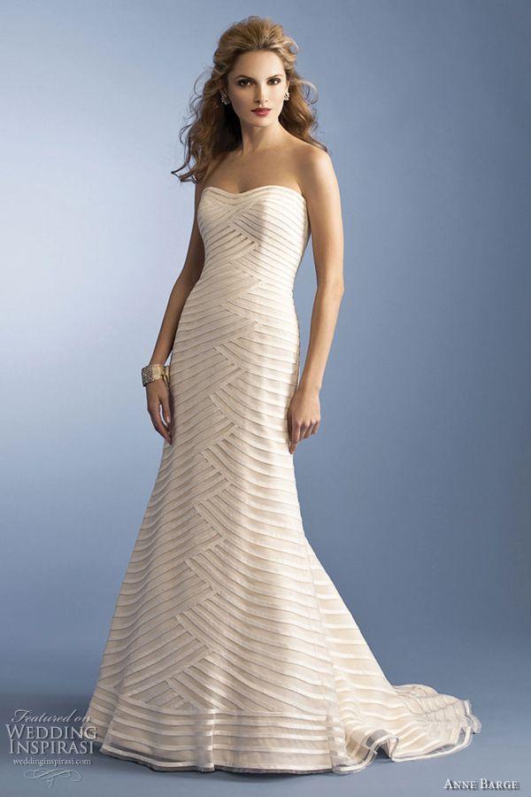 Anne Barge Wedding Dresses Spring 2012 | Anne barge, Anne barge ...