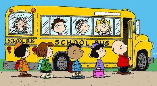 Image result for peanuts school