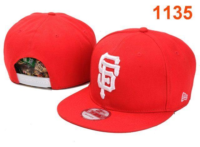 New Era MLB San Francisco Giants Snapback Hats Caps Red 3963! Only  8.90USD 1ec8c783018e