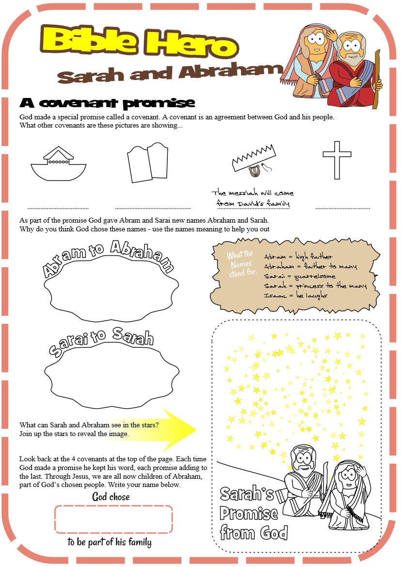 Free Bible Activity Sheets - Truth for kids