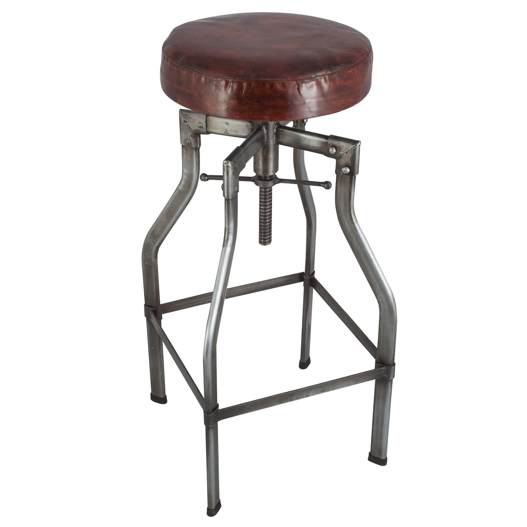 in inch saddle palazzo stools home counter brown stool bar