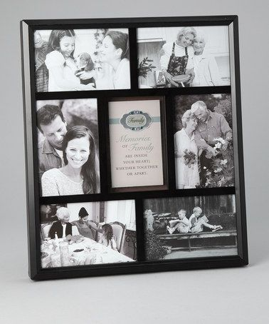 Take A Look At This Family Rhinestone Collage Photo Frame By Havoc Gifts On Zulily Today Frame Collage Frames Framed Photo Collage
