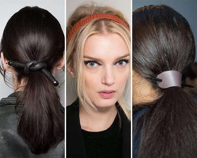 Fall/ Winter 2015-2016 Hair Accessory Trends | Fall winter 2015 ...