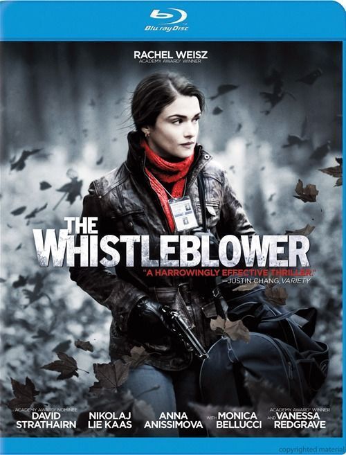 The Whistleblower Blu-Ray Review & Podcast.