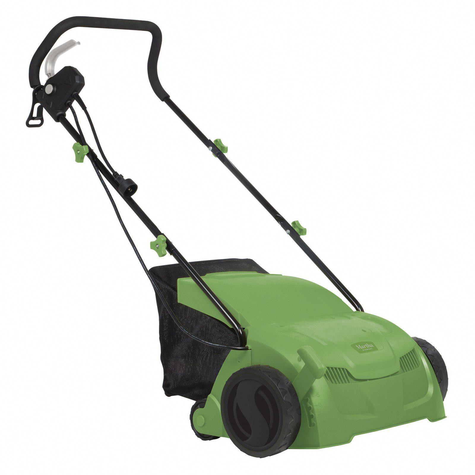 Martha Stewart 12 Amp 13 In Electric Scarifier And Lawn Dethatcher Bestgardentools Dethatching Lawn