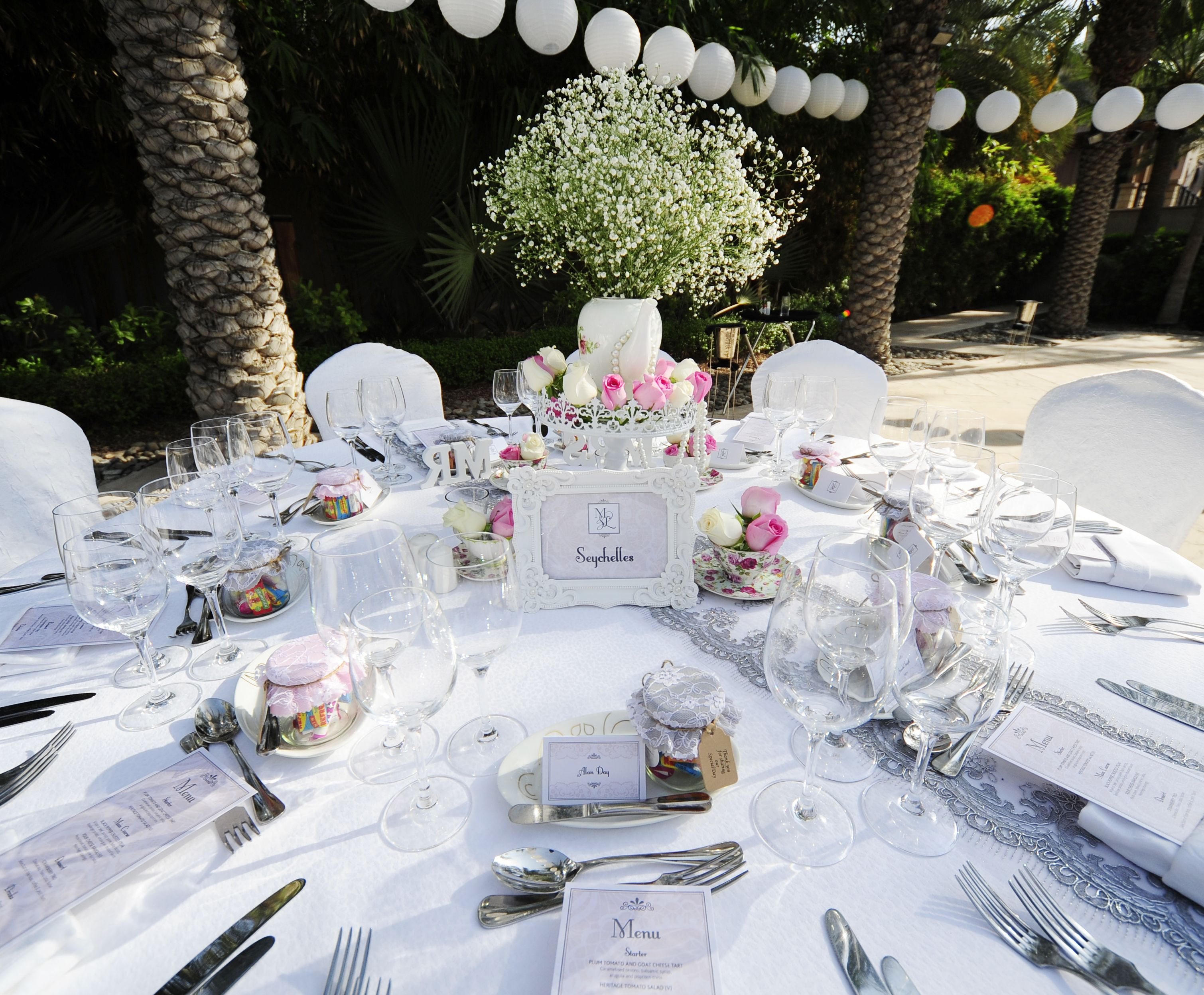 White Wedding Theme Aghareed Weddings Wedding Planner