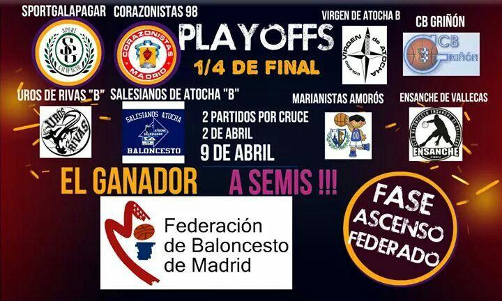 #sportgalapagarplayoffs2016 Junior federado fase de ascenso