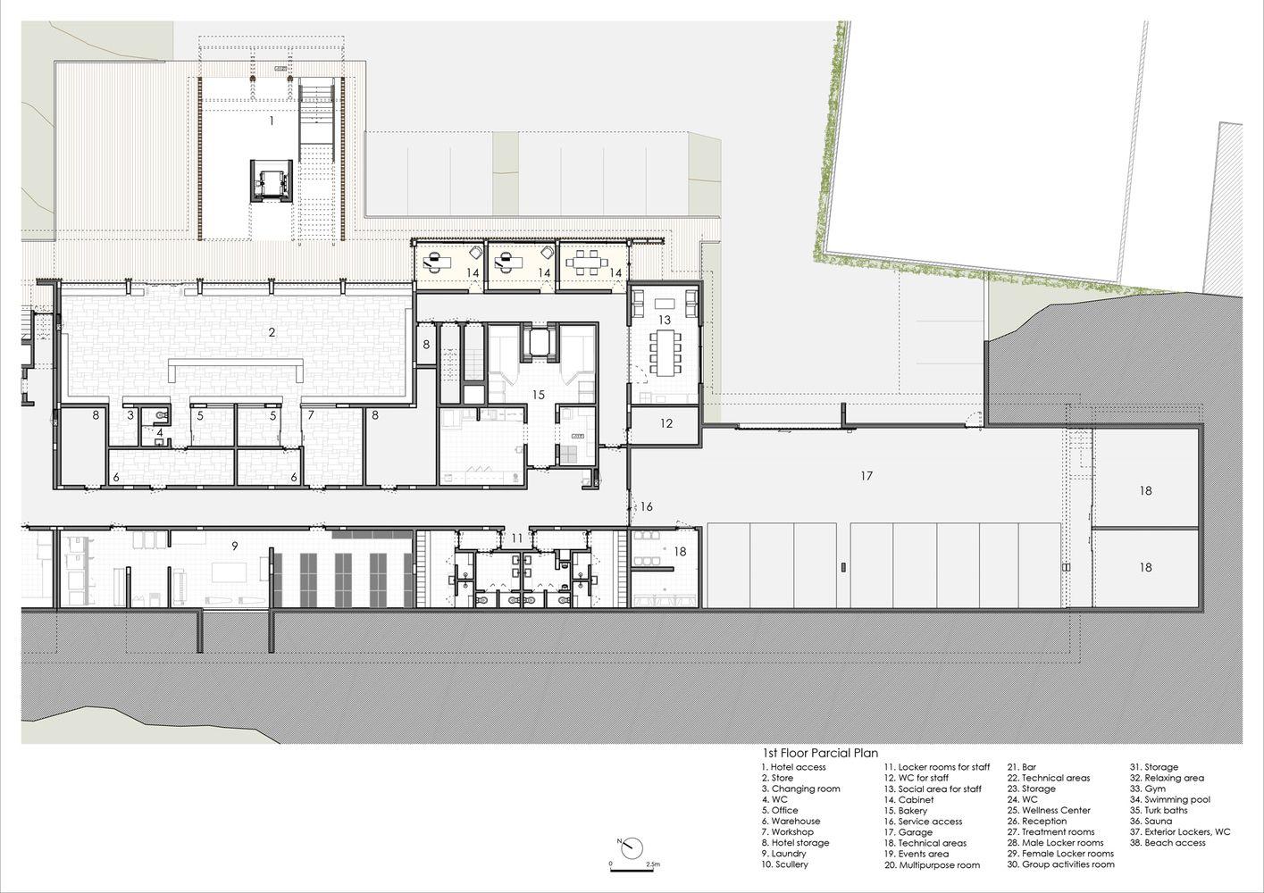 Gallery Of Feelviana Hotel Carlos Castanheira 30 Hotel Urban Planning Floor Plans