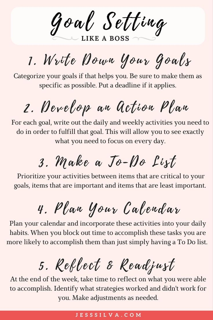Setting Proper Goals and Maximizing Your Efforts in 2018
