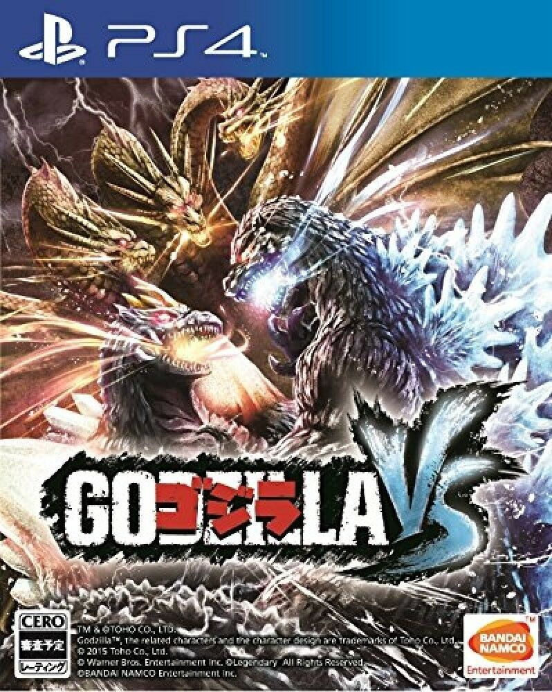 Details about PS4 GODZILLAVS PlayStation 4 Japan New F/S