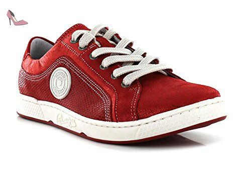 d9548ce3cf0 PATAUGAS JOYAU - Baskets basses   Baskets mode - Rouge - Femme - T ...