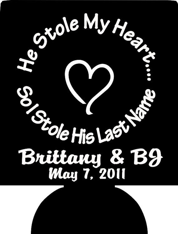 50 Personalized Custom Can Koozies Wedding Favor Coolies Quick Turnaround 1023 2