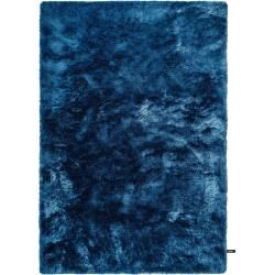 Photo of benuta Shaggy Rug Whisper Blue 140×200 cm – Long pile rug for living room benuta