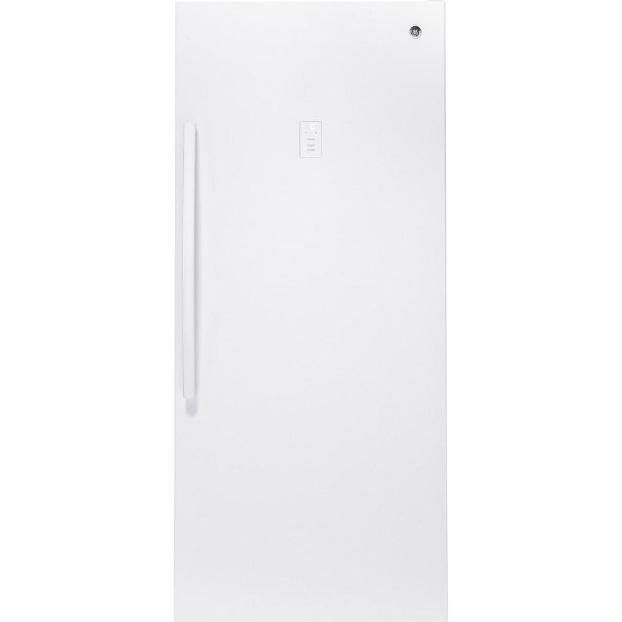 GE 21.3cu ft Upright Freezer (White) ENERGY STAR