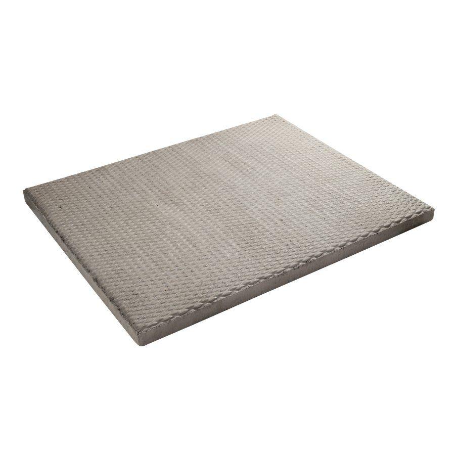 DECOR 24 In X 30 In Rectangular Grey Diamond Pattern Patio Stone | Loweu0027s