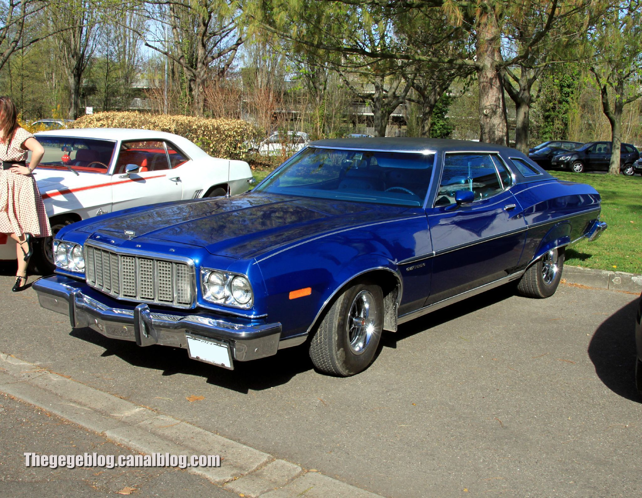 ford torino ford gran torino hardtop coupe de 1974 retrorencard avril 2012 01 fords i like. Black Bedroom Furniture Sets. Home Design Ideas