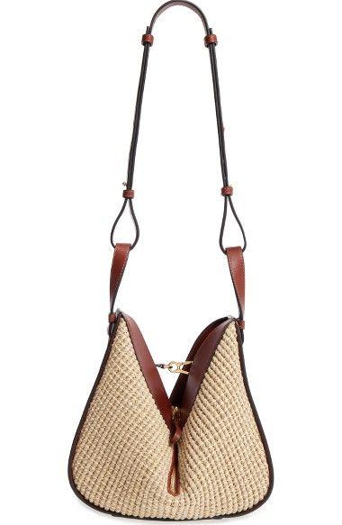 LOEWE Small Hammock Raffia Hobo.  loewe  bags  shoulder bags  hand bags 66e38fbbb95