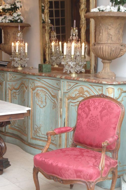 Beautiful Color For The French Chairs In My Bedroom Pink