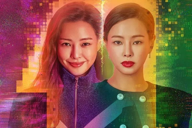 """Upcoming SBS Drama """"One The Woman"""" Shows Honey Lee's Duality In Vibrant Poster"""
