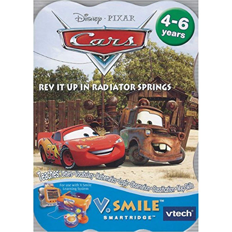 Vtech V.Smile Smartridge Cars: Rev It Up In Radiator