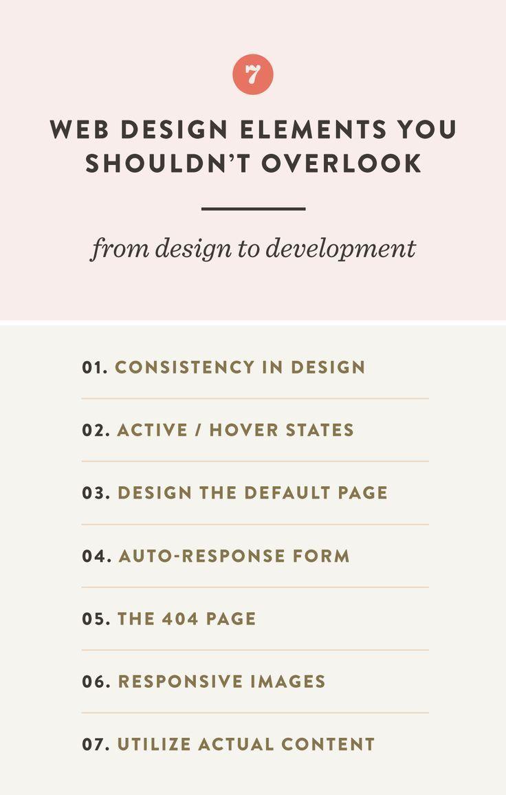 7 Web Design Elements You Shouldn't Overlook   Spruce Rd. #webdesign