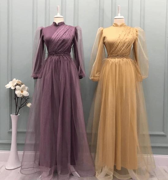2020 Ucuz Tesettur Abiye Elbise Modelleri Ve Fiyatlari Alimli Kadin 2020 Elbise Modelleri Elbise Ziyafet Elbiseler
