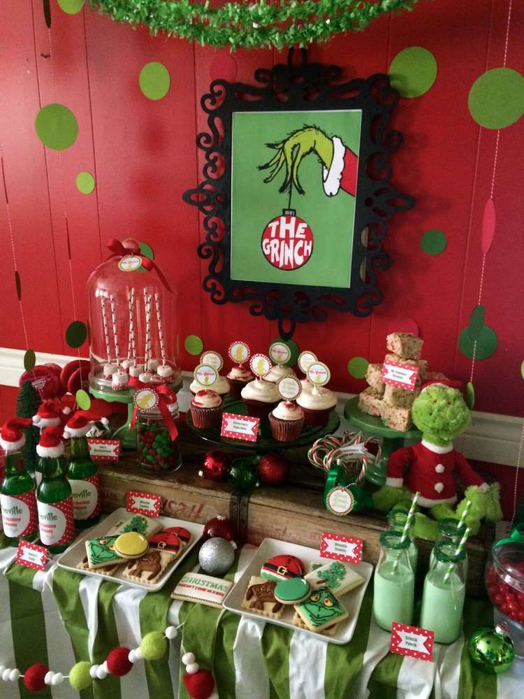 The Grinch Christmas Holiday Party Ideas Photo 3 Of 17 Catch My