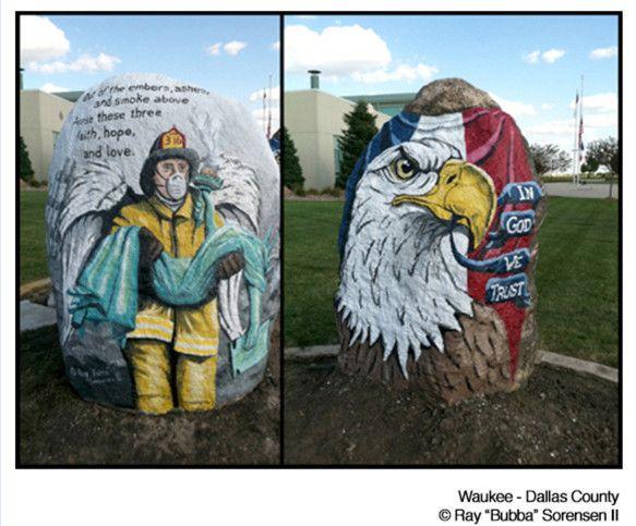 Freedom Rock Tour Pics Freedom Dallas County Rock