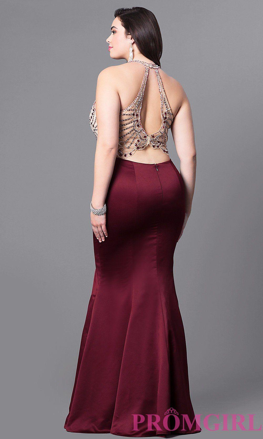 Image result for plus size mermaid dress | Formal | Dresses, Mermaid ...