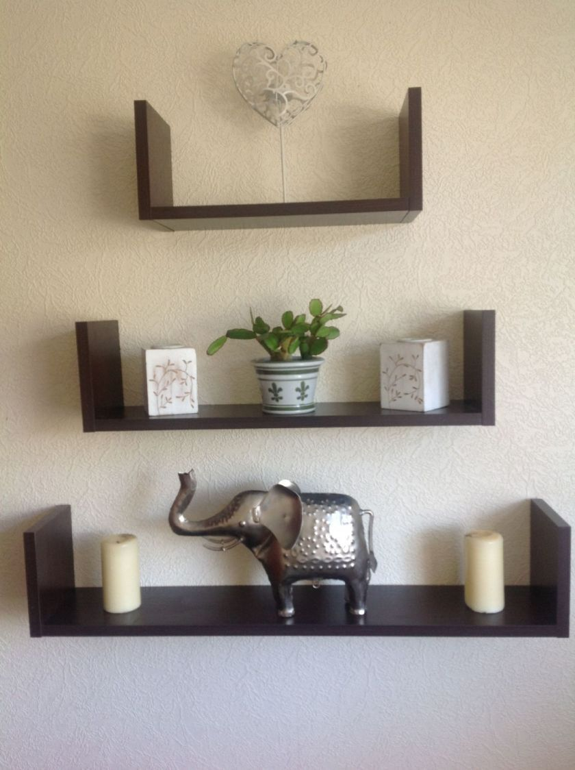 wooden wall mounted shelves - Wall Hanging Shelves Design