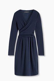 jersey kleid mit multifunktionswickel  kleider elegante kleider abendgarderobe