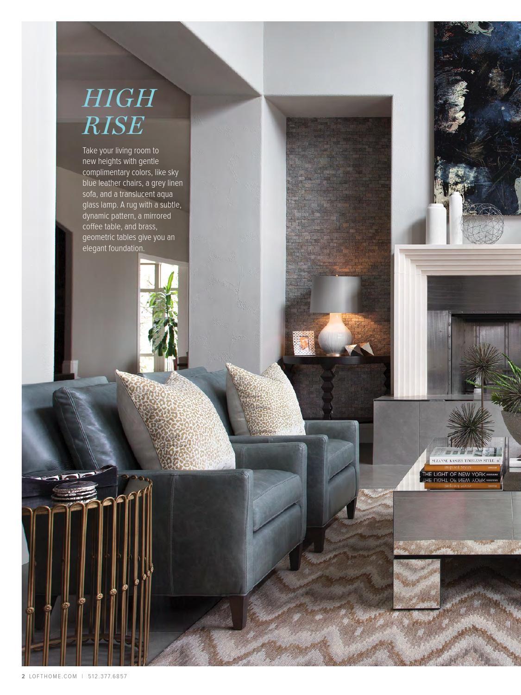 loft home spring 2015 catalog living rooms pinterest lofts