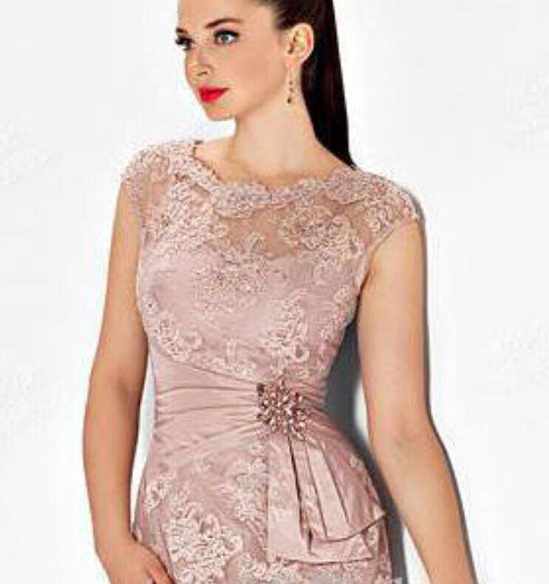 Vestidos Para Boda 2016 Corto de Color Rosa Madre de La Novia Viste ...