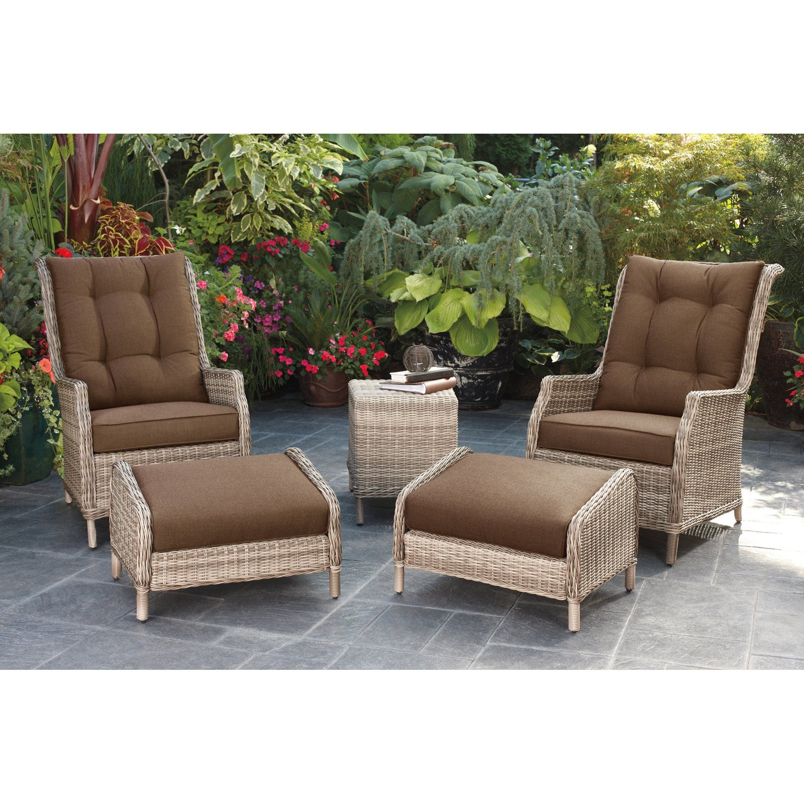 Have to have it. Bromley AllWeather Wicker Chat Set